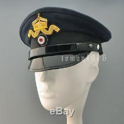 Replica Ww1 German Kaiserliche Marine Officer's Visor Cap