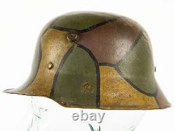 Robby Wilson WWI M16 German Camouflage Childs/Officers Lightweight Helmet
