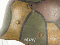 Robby Wilson WWI M16 German Camouflage Childs/Officers Lightweight Helmet