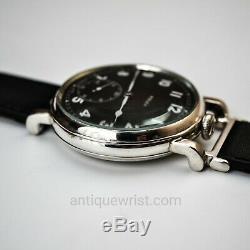 Rolex British Air Ministry RAF WW1 military pilots black vintage mens watch