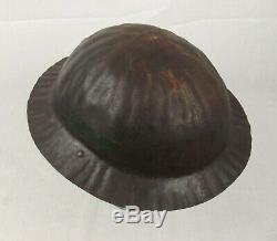 Royal Inniskilling Fusiliers WW1 Raw Edge Brodie Helmet