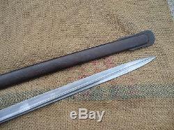 Scarce Wwi Gallipoli Battle Turkish Ottoman Cavalry Sword Sabre Bayonet