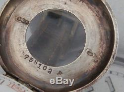 Silver Half Hunter WW1 Military Trench watch Boite Savonnette patt 71363 Rebberg