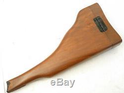 Stock wood P08 Luger german ww1 sniper elite bois