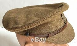 Super Rare Ww1 Uvf 36th Ulster O/r's Peaked Cap