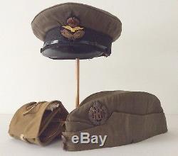 Superb Canadian WWI Royal Flying Corps RAF RFC Named Lot / Canada