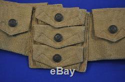 Superb Pre Wwi Us M1912 Mills Eagle Snap Bandoleerbelt