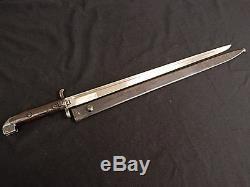 Swedish WWI M-1915 Navy Carbine Long Bayonet WithS Original Rare No Reserve