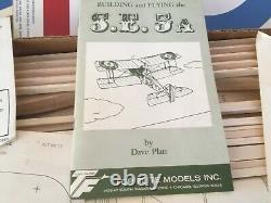 Top Flite S. E. 5A Exact Scale WW1 Airplane Kit
