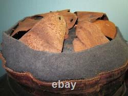 Traced name Vimy! Compl WW1 French M15 Adrian helmet casque stahlhelm casco