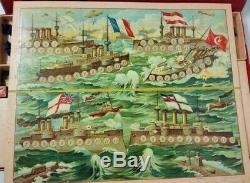 Türkei WWI Patriotische Kriegsspiel 1. Weltkrieg Alte Flottenspiel -Militärspiel