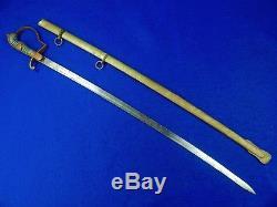 Turkish Turkey WWI WW1 Officer's Sword with Scabbard