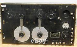 US Army BC-131 Radio Receiver or SE-1420 40-1000kHz tuning range WW1, 1920's