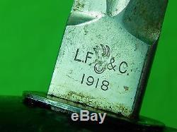 US WW1 1918 LF&C Patton Sword
