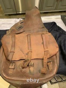 US WW1 Cavalry US Saddle Bags
