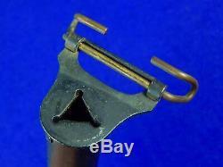 US WW1 Jewell 1918 NEAR MINT Scabbard Sheath for Trench Fighting Knife