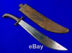 US WW1 SA Model 1909 Bolo Fighting Knife #79 with Scabbard