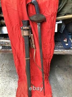 US WWI Patton Sword 1913 Dated SA Arsenal Marked 100% Original
