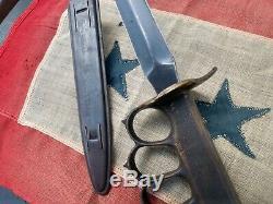 U. S. WW1 WW2 1918 1917 Trench FIGHTING Knife War paratrooper combat dagger