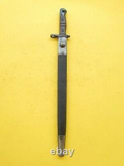 U. S Ww1 Remington M 1917 Bayonet /scabbard -us Bomb Proofed