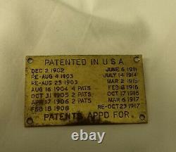 Ultra Rare Wwi Western Electric Signal Corps Scr-67 Transmitter Radio Scr68
