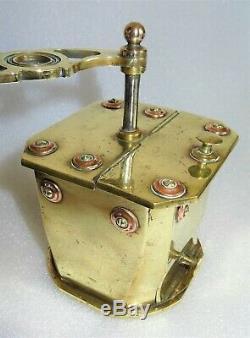 Unique moulin à café WW1 travail de poilu -1916