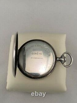 Vacheron Constantin US Army Corps Of Engineers USA Silver Pocket Watch WWI