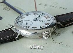 Very Pretty and Honest Example of a WW1 Trench Watch A Great Example to Wear