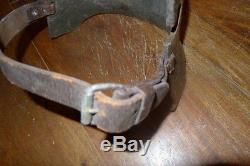 Very Rare Original Ww1 German Trench Warfare Set Armour Body And Trench Club