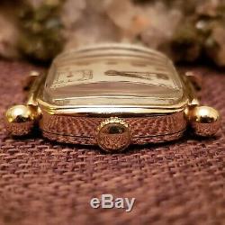 Vintage 1940s Hamilton Martin 17 Jewel 987A pre wwI Men's Wrist Watch Runs well