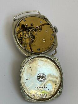 Vintage All Original LONGINES Military WWI Trench Watch cal. 13.34 Swiss
