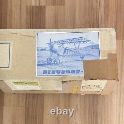 Vintage Nieuport 11 Bebe Proctor WWI Radio Control Museum Scale Model Plane Kit
