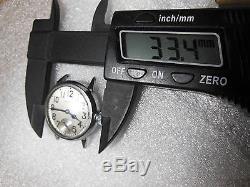 Vintage WWI Waltham Grade 361 military trench wrist watch good balance