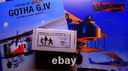 WOW Wingnut Wings 1/32 GOTHA G. IV WWI bomber with BONUS BOOK and FIGURES