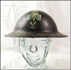 WW1 1916-17 Irish Volunteers Brodie Helmet