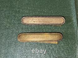 WW1 30s US Navy grouping contiuous service, Good Conduct Medal Bar USS Moody