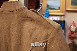 WW1 American DoughBoy Uniform, Banner, Gas Mask, Helmet, Estate Fresh Lot