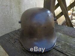 WW1 Austrian Steel Helmet- Outstanding