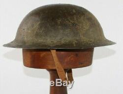 WW1 British / Australian Mk 1 Steel Helmet (Brodie Helmet ANZAC)