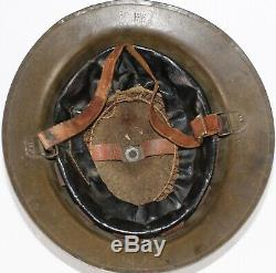 WW1 British / Australian Mk 1 Steel Helmet (Brodie Helmet ANZAC Interest)