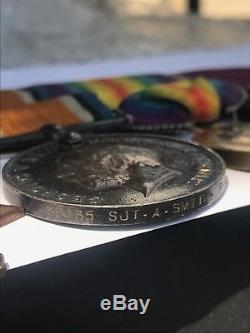 WW1 British Military Medal Group to Alfred Smith