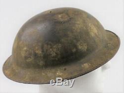 WW1 British Mk 1 Steel Helmet (Brodie Helmet ANZAC)