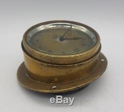 WW1 British RFC Royal Flying Corps Aircraft Smiths Cockpit Clock Working LOOK