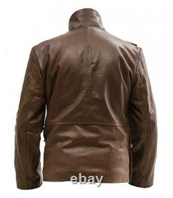 WW1 British RFC Royal Flying Corps short leather coat- MADE TO YOUR SIZES