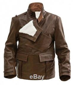 WW1 British RFC Royal Flying Corps short leather coat- made to order