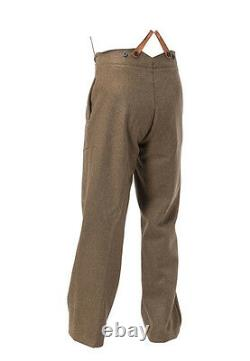WW1 British army Uniform with Stiff peak cap- MADE TO YOUR SIZES