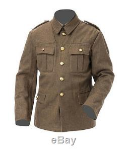 WW1 British army Uniform with Stiff peak cap- made to order