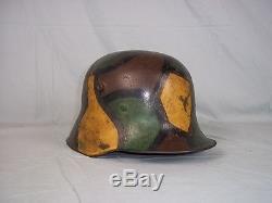 WW1 Camouflage M1916 Stuttgart 1917 Helm