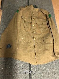 WW1 Canadian 4th Division Tunic Original