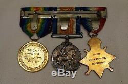WW1 Canadian Black Watch RFC Air Gunner Uniform Medals Documents Grouping